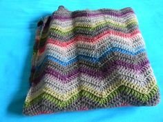 Color inspiration :: Shelbyshea's waterfall ~ Easy Ripple Afghan, free pattern by SusanB