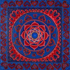 Love Mandala Red Lotus