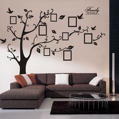 Árvore da memória da foto da parede adesivos sala casa decoração decalque criativo arte mural da parede DIY