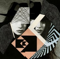 anna higgie #colorcombo #geometric #collage #toohot