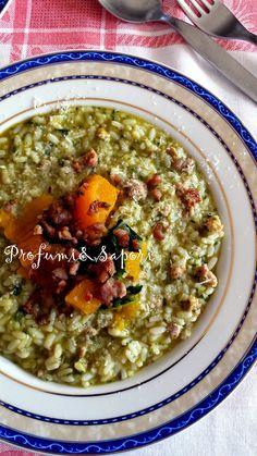 Profumi&Sapori: Risotto con zucca, salsiccia e pecorino