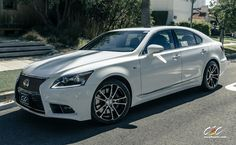 Lexus LS460 with Custom Wheels by CEC in Los Angeles CA . Click to view more photos and mod info.