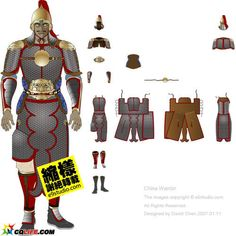 Ming dynasty - Heavily armored commander