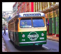 Trolley Bus Valparaiso (Chile)