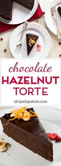 Rich and dense, with a truffle-like texture and a hint of orange, this flourless torte is gluten and grain free!