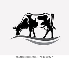 Cow Logo, Farm Logo, Cow Tattoo, Cow Shed, Cow Drawing, Cow Vector, Holstein Cows, Bike Tattoos, Cow Pictures