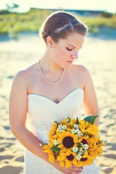 Wedding    #bridal #sunflowers #wedding #weddingphotography #updo #flowers #bride #weddingdress Wedding Stuff, Wedding Flowers, Wedding Ideas, Wedding Dresses, Flower Ideas, Sunflowers, Updos, Wedding Photography, Bride