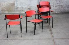 Gijs van der Sluis retro design stoelen - Stoelen - Marktplaats.nl