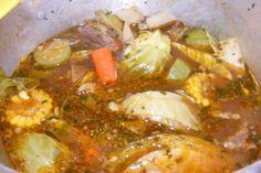 Caldo De Res (A Mexican Beef -Vegetable Soup). Photo by Mark Archer