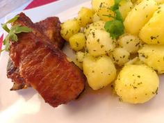 Baked Potato, Bacon, Pork, Potatoes, Vegetables, Ethnic Recipes, Foods, Drinks, Kale Stir Fry