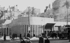 Warszawa, pawilon cukierni J. Gajewskiego przy Marszałkowskiej (1947)