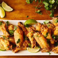 Crispy baked chicken wings - all the crispy with none of the deep frying!