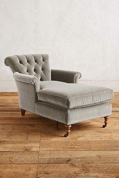 Velvet Gwinnette Chaise Lounge - anthropologie.com