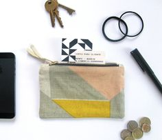 www.tamasyngambell.com Screen Printing, Zip Around Wallet, Coin Purse, Pouch, Tote Bag, Mini, Prints, Red, Blue