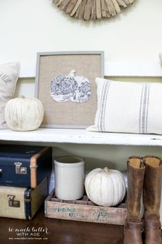 Fall Home Tour 2014 | So Much Better With Age