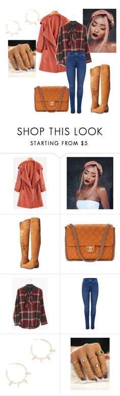 """""""Untitled #653"""" by t-hoosang on Polyvore featuring Report, Chanel, Madewell and Justine Clenquet"""
