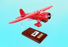 ELITE EXECUTIVE SERIES 1/24 DESKTOP MODEL VEGA PLANE! MINT! ESAG016