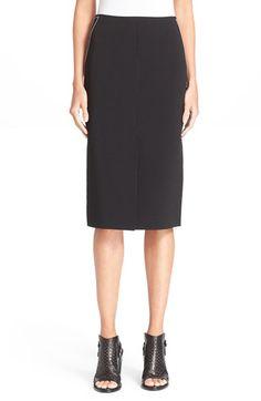 RAG & BONE 'Phoebe' Back Zip Midi Skirt. #ragbone #cloth #