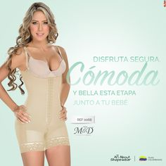 5f296be439 Fajas Colombianas MyD Short Style Girdle Post Partum Surgical Shapewear -  Ref 0068