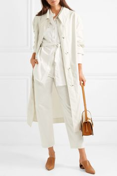 Lemaire | Wool trench coat | NET-A-PORTER.COM