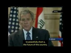 2008, Dec 12 – Iraq Security Agreement Bush/Maliki- open captioned – The Closed Captioning Project LLC, sponsored by Accurate Secretarial LLC