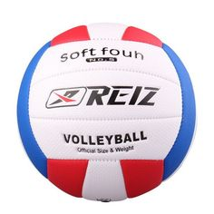 Official Size 5 PU Volleyball High Quality Match Volleyball Indoor&Outdoor Training ball With Net Bag V601B