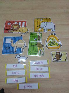Dear Zoo Story props from Kizclub www.kizclub.com