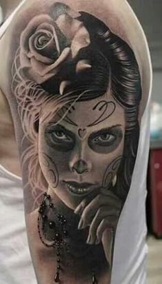 334 Mejores Imágenes De Catrinas Mexicano Tattoo En 2019 Death