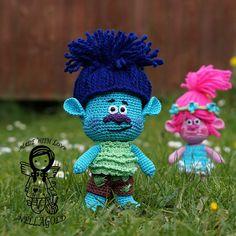 Crochet PATTERN Troll Branch Crochet doll pattern Trolls