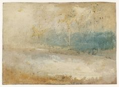 "J.M.W. Turner (177-1851), ""Waves Breaking on a Beach"" - Tate Beitain ~ London, England"
