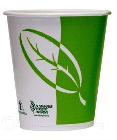 Ecotainer™ cup. Vaso de papel biodegradable