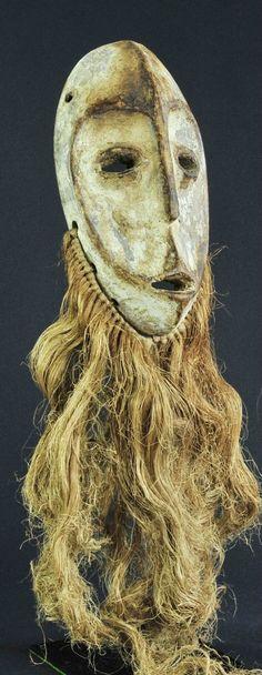 Masque LEGA - Bwami - Mask- Congo RDC