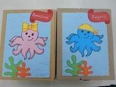 Φάκελοι τέλους (Μαίρη Γούση) Summer Crafts, Winnie The Pooh, Pikachu, Disney Characters, Fictional Characters, Kindergarten, Infant, Beach, Ideas