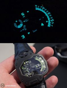 Urwerk UR-110 Lume Shot For the guy that has almost everything
