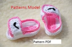 $4.92 Etsy listing at https://www.etsy.com/listing/493092779/crochet-pattern-nike-air-jordan-sandals