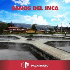 Los Baños del Inca de Cajamarca son conocidos por tener aguas termo-medicinales muy buenas para la salud.