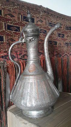 Медный кувшин, Турция 1800г. Ottoman Turkish ewer, 1800.