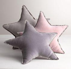 Washed Velvet Decorative Pillow