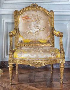 Louis XVI Armchair - Petit Trianon, Versailles,