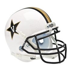 Vanderbilt Commodores NCAA Authentic Mini 1-4 Size Helmet (Alternate White 1)