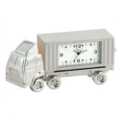 Chass Mini 18 Wheeler Clock in Silver - 882-089