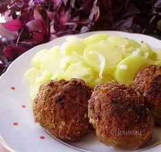 Fašírky Czech Recipes, Russian Recipes, Ethnic Recipes, Its A Wonderful Life, Baked Potato, Ham, Mashed Potatoes, Chili, Dips