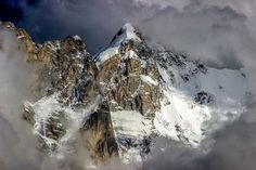 Another stunning closeup view of the Kinner Kailash Range drenched in clouds and sunlit as seen from the village of Kalpa in the Kinnaur District of the Indian state of Himachal Pradesh. It is believed to be one of the earthly abodes of Lord Shiva. Wanderland, Shot Photo, Backrounds, National Geographic Photos, Your Shot, Deities, Nature Photos, Amazing Photography, Scenery