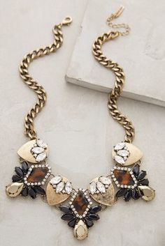 Anthropologie BaubleBar x Dorado Crystal Bib Necklace on shopstyle.com