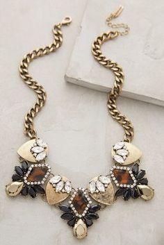 Anthropologie BaubleBar x Dorado Crystal Bib Necklace on shopstyle.com