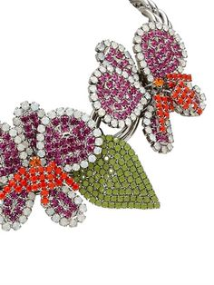 "VITTORIO CECCOLI - COLLANA ""ORCHID"" - LUISAVIAROMA - LUXURY SHOPPING WORLDWIDE SHIPPING - FLORENCE"