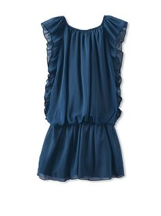 Us Angels Girls Flutter Sleeve Dress -- panicking because they are out of stock!! Emily NEEDS this dress!! ;-) It's beautiful!