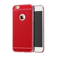 iPhone 8 Case / iPhone 7 Case Remex[with Tempered Glass Srceen Protector] Ultra Thin Luxury TPU Shell and Anti-Scratch and Non-Slip Design Cover for Apple iPhone 7/8 (Red). Keep your Apple iPhone 7 fully protected, shock proof and scratch resistant and non-slip and integrated magnetic metal. Provide easy access to all functions and simple design of TPU and polycarbonate gives your phone great protection. Made from durable high quality material, provides maximum protection for your...