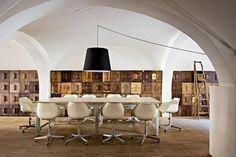 A Florence, un loft modulable installé dans une menuiserie    Pour en savoir plus : A Florence, un loft modulable installé dans une menuiserie