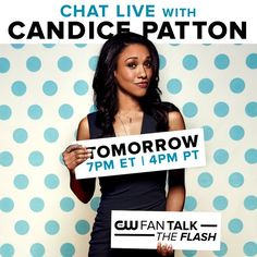 Get the WestAllen low down with @candicekp on CW FanTalk before tomorrow's season finale of #TheFlash!